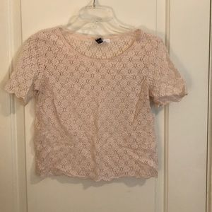 Floral Patterned Lace Top